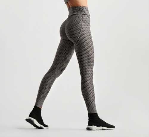 3D Leggings - Grey