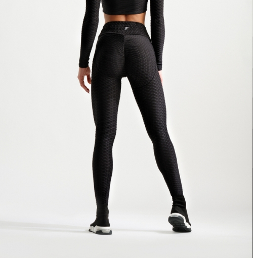 3D Leggings - Black