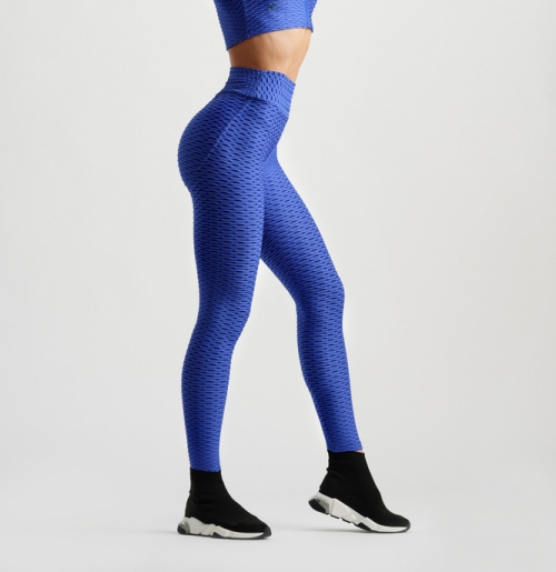 3D Leggings - Royal Blue